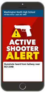 Active Shooter Alert